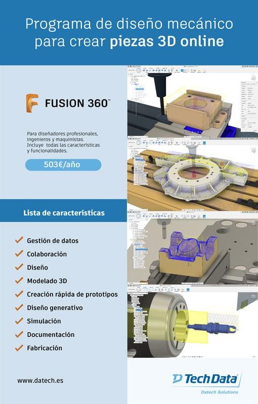 Diseño mecánico para creación de piezas
