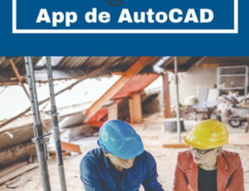 Aplicación móvil para hacer planos 2D online con AutoCAD