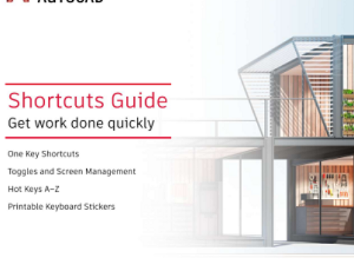 Guía de comandos de acceso rápido de AutoCAD